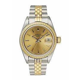 Rolex Datejust 69173 Ladies Watch Box & paper