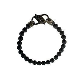 Stephen Webster England Made Me Ceramic & Black Sapphire Bracelet