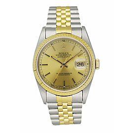 Rolex Datejust 16233 Men's Watch Box & Papers