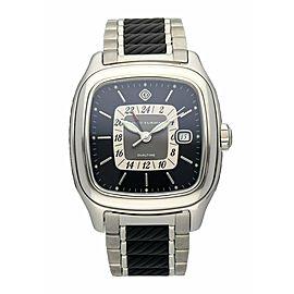 David Yurman T306-DST Thoroughbred Dual Time Automatic Watch