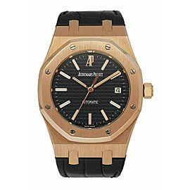 Audemars Piguet 15300OR 18K Rose Gold Men's Watch