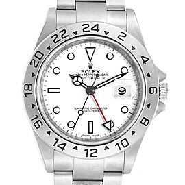 Rolex Explorer II White Dial Parachrom Hairspring Mens Watch 16570