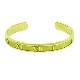 Tiffany & Co Atlas Bracelet Bangle In 18K Yellow Gold Used In New Condition