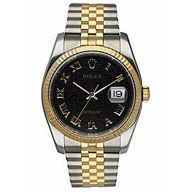 Rolex Datejust 116233 Anniversary Dial Men's Watch