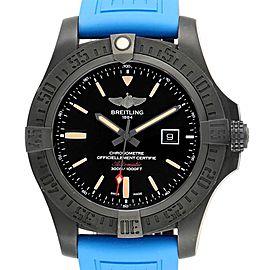 Breitling Avenger Blackbird 48 Titanium Rubber Strap Mens Watch V17310