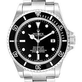 Rolex Seadweller Black Dial Oyster Bracelet Steel Mens Watch 16600