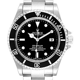 Rolex Seadweller 40mm Black Dial Steel Mens Watch 16600