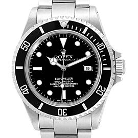 Rolex Sea-dweller Black Dial Automatic Steel Mens Watch 16600