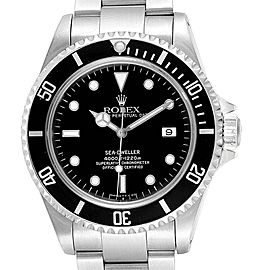 Rolex Seadweller Black Dial Stainless Steel Mens Watch 16600