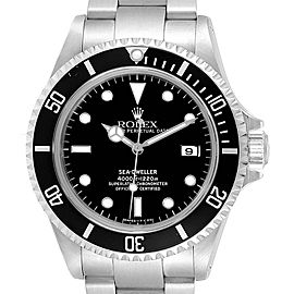 Rolex Seadweller 40mm Black Dial Steel Mens Watch 16600