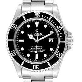 Rolex Sea-dweller Black Dial Automatic Steel Mens Watch 16600 Box