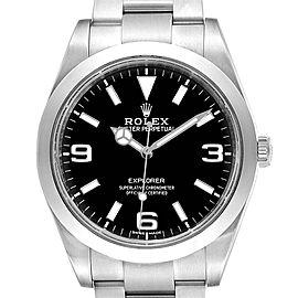 Rolex Explorer I 39 Luminous Arabic Numbers Mens Watch 214270 Box Card