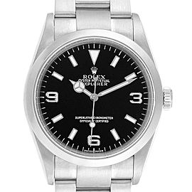 Rolex Explorer I Automatic Steel Mens Watch 114270