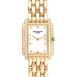 Patek Philippe Gondolo 18k Yellow Gold Diamond Ladies Watch 4825
