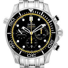Omega Seamaster Regatta Yellow Hands Watch 212.30.44.50.01.002 Card