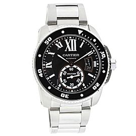 Cartier Calibre De Cartier W7100057 42mm Mens Watch
