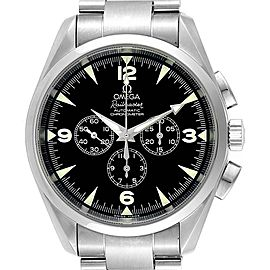 Omega Aqua Terra Railmaster Mens Chronograph Watch 2512.52.00 Card