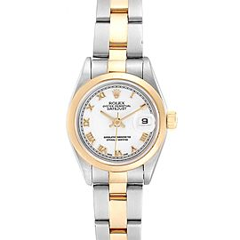 Rolex Datejust 26 Steel Yellow Gold Ladies Watch 69163 Box Papers
