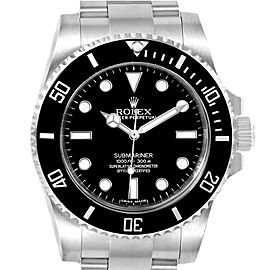 Rolex Submariner Ceramic Bezel Oyster Bracelet Steel Mens Watch 114060