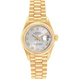 Rolex President Datejust 18K Yellow Gold 26mm Ladies Watch 69178