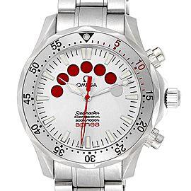 Omega Seamaster Apnea Jacques Mayol Silver Dial Mens Watch 2595.30.00