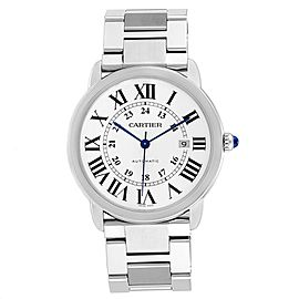 Cartier Ronde Solo XL 42 Automatic Steel Mens Watch W6701011