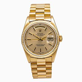 Rolex Day-Date 18233 36mm Mens Watch