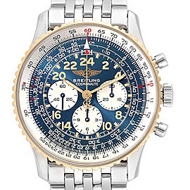 Breitling Navitimer Cosmonaute Lemania Steel Yellow Gold Watch D12022