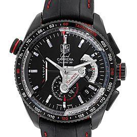 Tag Heuer Grand Carrera 36 RS Caliper PVD Titanium Watch CAV5185.FC6237