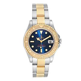 Rolex Yachtmaster 33 Midsize Steel Yellow Gold Unisex Watch 168623