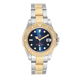 Rolex Yachtmaster 33 Midsize Steel Yellow Gold Unisex Watch 168623