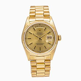 Rolex Day-Date 18038 36mm Mens Watch