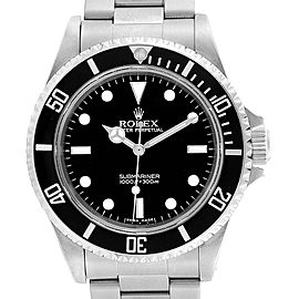 Rolex Submariner 40mm Non-Date 2 Liner Steel Mens Watch 14060