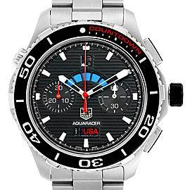 Tag Heuer Aquaracer Oracle Team USA Countdown LE Mens Watch CAK211B