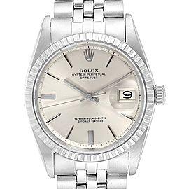 Rolex Datejust Silver Dial Jubilee Bracelet Vintage Mens Watch 1603