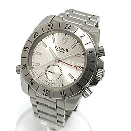 TUDOR 20200 Stainless Steel GMT Aeronote Small Seconds Wrist watch