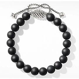 David Yurman Spiritual Bead Bracelet with Matte Black Onyx