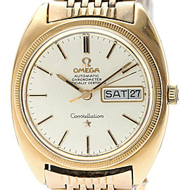 OMEGA Constallation Chronometer Cal 751 Pink Gold Plated Watch
