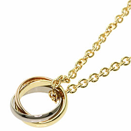 CARTIER Three Gold Trinity Necklace