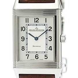 JAEGER-LECOULTRE Reverso Classic Steel Quartz Watch 252.8.47
