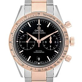 Omega Speedmaster 57 Steel Rose Gold Watch 331.20.42.51.01.002 Unworn