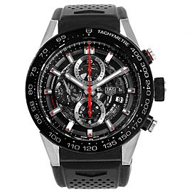 TAG Heuer Carrera Calibre Heuer 01 Skeleton Dial Mens Watch CAR2A1Z