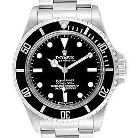 Rolex Submariner NonDate 4 Liner Parachrom Hairspring Mens Watch 14060