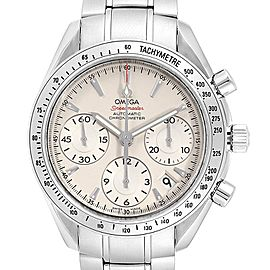 Omega Speedmaster Day Date Steel Mens Watch 323.10.40.40.02.001 Card