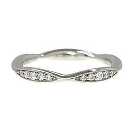 Chanel 950 platinum Camellia Collection Ring RK-286
