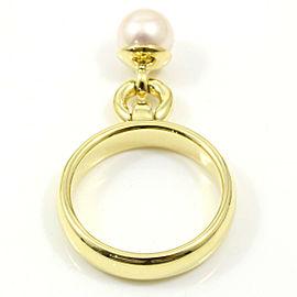Tiffany & Co. 18K Yellow Gold, Pearl Door Knocker Ring CHAT-200