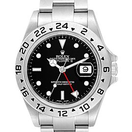 Rolex Explorer II 40 Black Dial Red Hand Automatic Mens Watch 16570