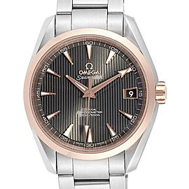Omega Seamaster Aqua Terra Steel Rose Gold Watch 231.20.39.21.06.003