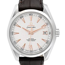 Omega Aqua Terra Co-Axial Mens Watch 231.13.39.21.02.002 Box card