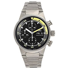 IWC Aquatimer GST Titanium Chronograph Day Date Mens Watch IW371903